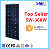 Made in China 18v 150w mono solar panel with high quality
