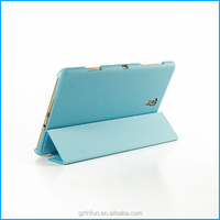 "Fancy 8.4"" tablet flip case for Samsung Galaxy Tab S 8.4-Blue"