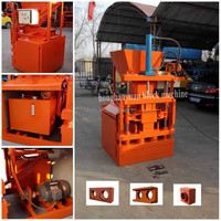 2015 HOT hby1-10 high pressure paving block making machines