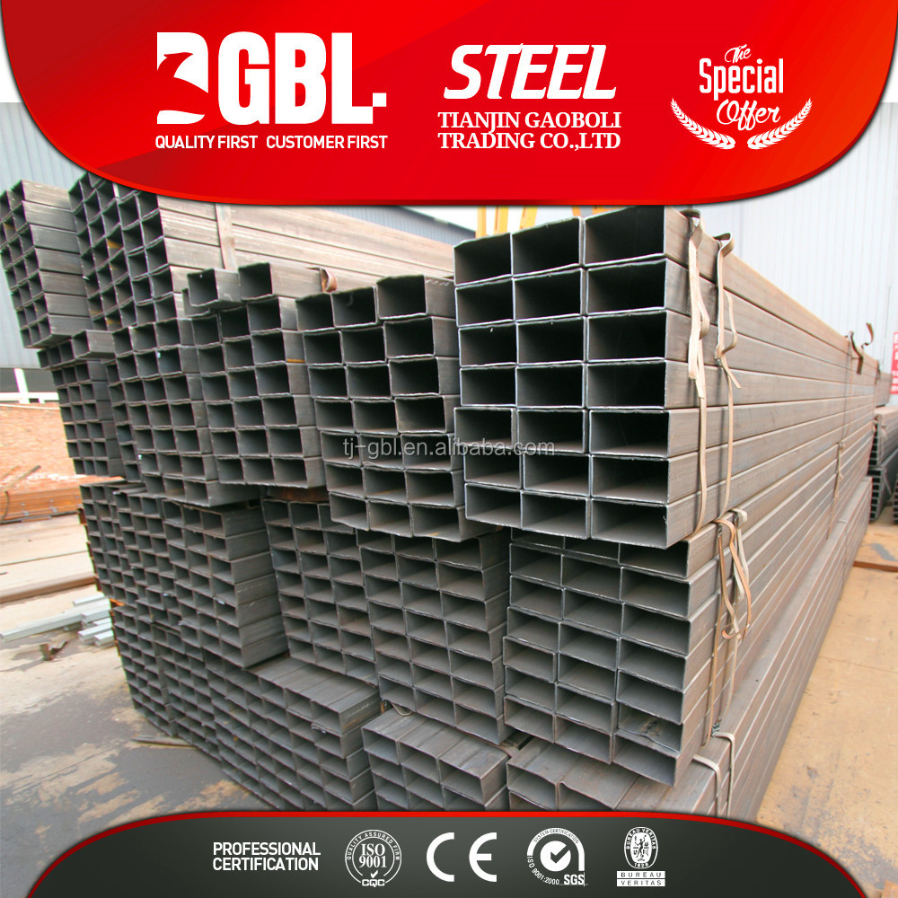 schedule 40 steel pipe price welded rectangular steel pipe tube on sale