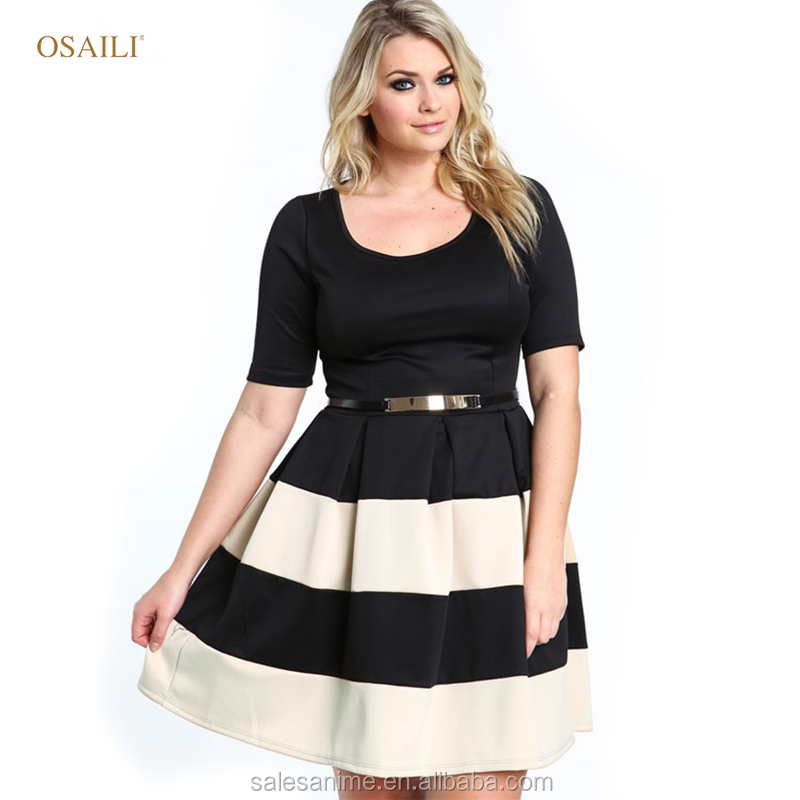 2016 New Coming Ladies Pictures Of Elegant Casual Figure Fit Dresses For Girls