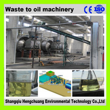safety 100% waste engine oil recycling system with 50% high oil output with CE certificate