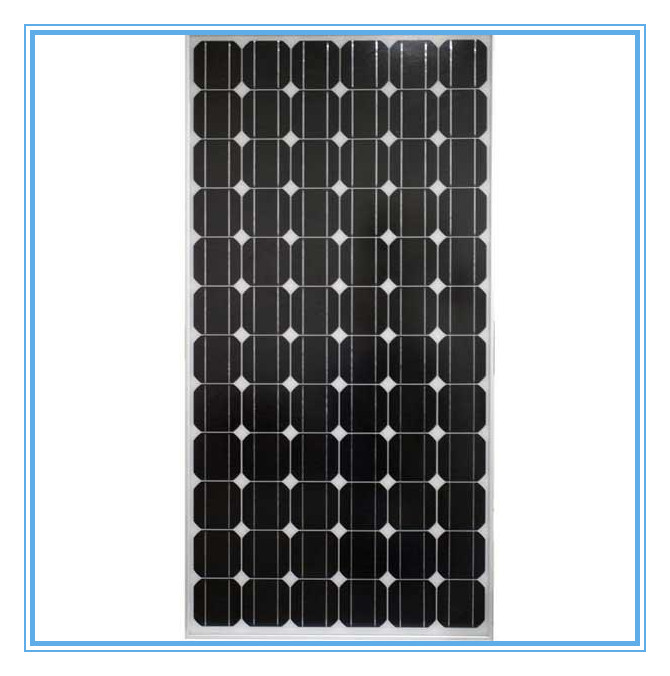 190W high quality black daylight solar panel made in china with TUV/UL/ISO/CE