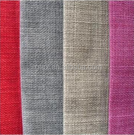 "100% POLYESTER FABRIC 180GSM 57/8"" LINEN IMITATION LOOK"