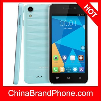 Original DOOGEE Valencia DG800 8GB Light Blue, 4.5 inch 3G Android 4.4.2 Smart Phone