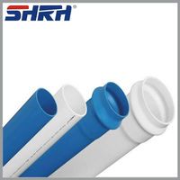 PVC Pipes for Hot and Cold Water Supply PVC Pipes China