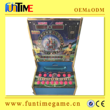 Small table slot casino game machine, high returns cabinet slot machine