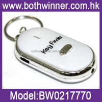 Whistle Sound LED Beeping Flashing Car Key Finder Locator Find Lost Keys Chain BW016