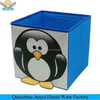 Wholesales foldable toy cartoon storage box for kids