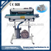hongzhan cbs/dbf series continuous bag sealer with painted skin