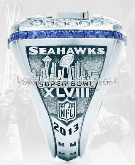 2013 NFL Seattle Seahawks championship ring for football player
