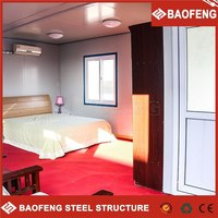 2015 canton fair hot sale prefabricated best built mobile homes