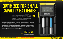 Popular in Malaysia Nitecore I2 D2 I4 D4 charger , Nitecore D2 LCD 18650 battery charger