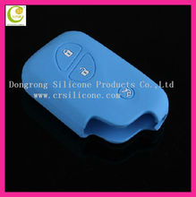 Novel&creative factory new design silicone rubber auto remote key/transponder key casing for lexus
