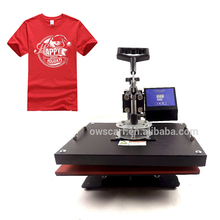Large 10 In 1 Funciton Small Logo Cheap Fabric Covered Button T-shirt Print Sublimation Transfer Heat Press Machine
