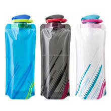 Folding Water Bag Outdoor Riding Large Capacity Water Bottle Camping Outdoor Bottles