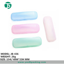 Promotion clear plastic carrying optical glasses cases/ eyewear holder custom glasses hard case