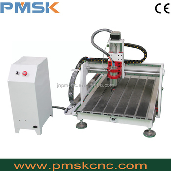 PMSK Mini CNC Router 3d engraver machine dog tags engraving