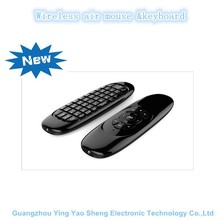 Wholesale Slim New Guangdong Portable 2.4G Wireless Air Mouse With Keyboard