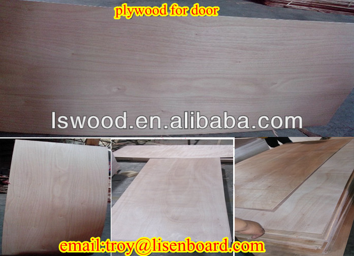 low price high quality door size plywood 4x8