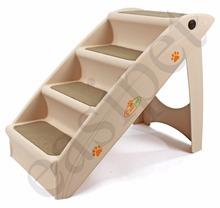 Dog Pet Puppy Plastic Foldable Stairs