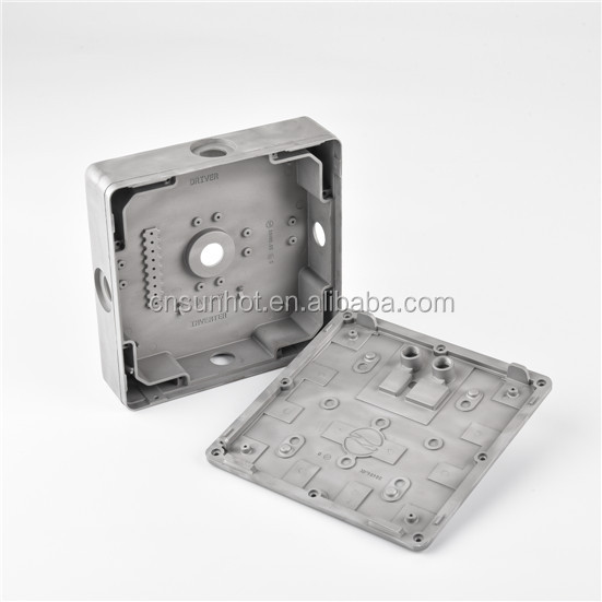 Aluminum housing for led lights