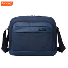 Aoking 2017 New Trend Men Messenger laptop Bag Business Leisure Men's Laptop Bags High Quality Shoulder Bags
