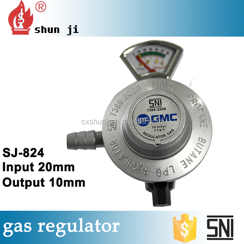 Aluminum alloy shell great material ammonia gas regulator