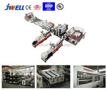 JWELL - waterproof plastic sheet Extrusion machine