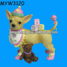 Bear Dressed Dog Resin Aye puppy chihuahua for sale