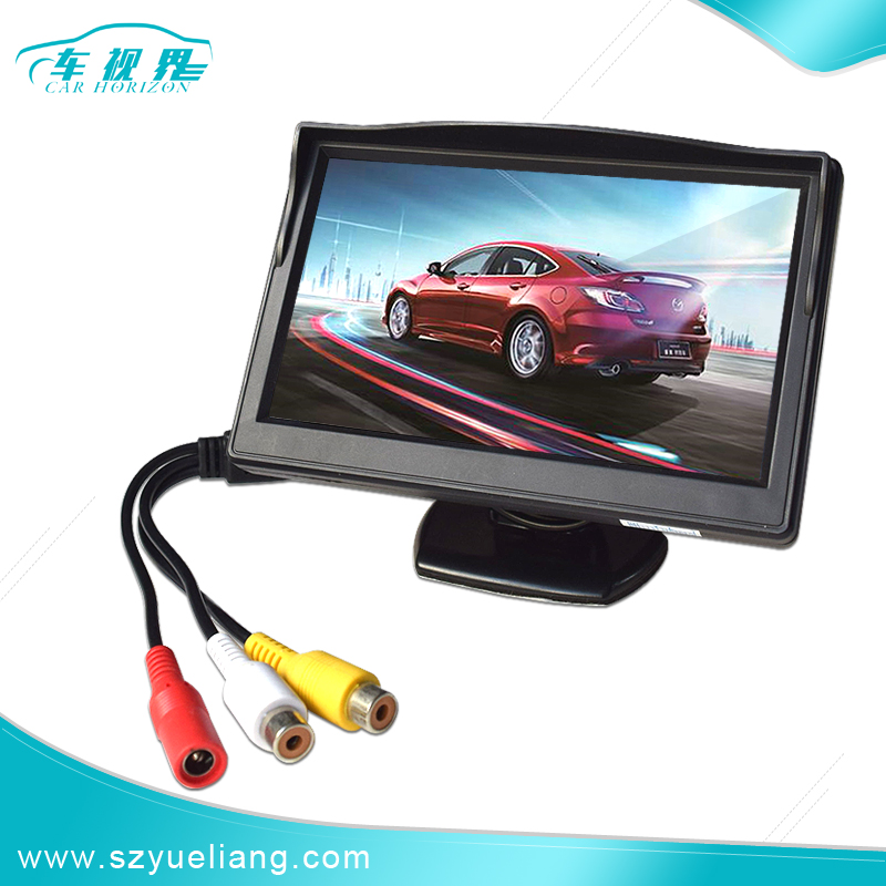 Fashion product HD 5 inch TFT-LCD Color Car Monitor with PAL/NTSC