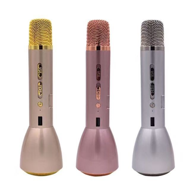 Bluetooth Wireless Microphone Portable Mic KTV Music Singing for IOS PC Android Device