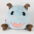Custom cuddly stuffed animals toy plush cow cushion