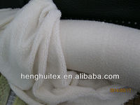 100% polyester solid color super soft sherpa fleece fabric