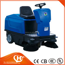 ride-on power sweeper