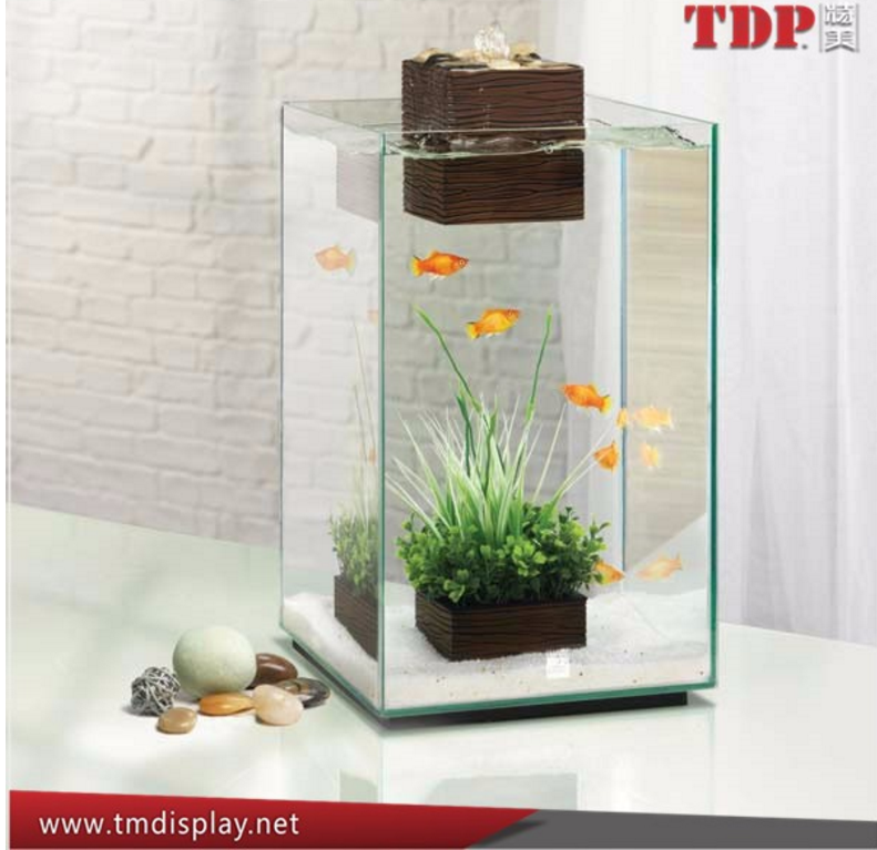 factory Custom Clear square large acrylic aquarium lucite acrylic fish tank Modern and Luxury Acrylic Fish Tank