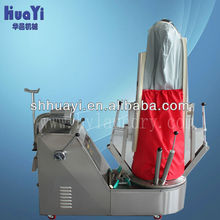hot iron press/automatic suit ironing machine(steam) for shirt