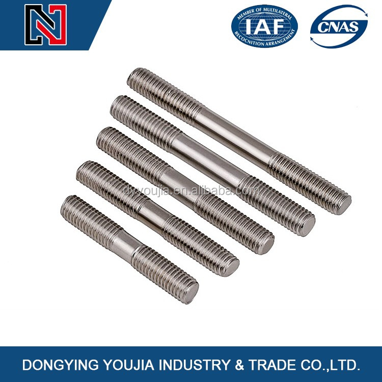 Fasteners supplier double Threaded Studs