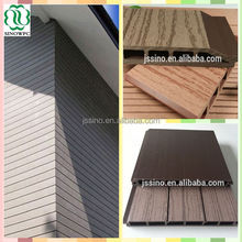 Outdoor decoration wood plastic composite wall panel wpc cladding