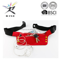 waterproof safety running sports belt with LED light