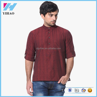 Men's Clothing Long Sleeve Kurta Designs For Men
