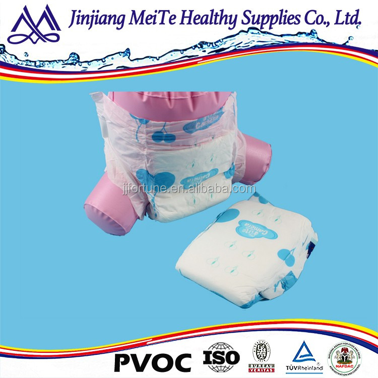 2017 Cheap Soft Disposable Baby Diaper Manufacturers In China Grade A