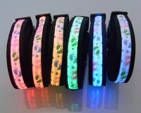 High quality classical led dog glowing flashing light collar