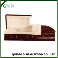 Best classical luxury coffins and caskets funeral for the dead adjustable metal bed