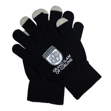 newest fashion hot sale jacquard touch phone screen magic hand gloves