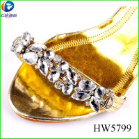 Fashion Glass Beads Shoe Chain Of
