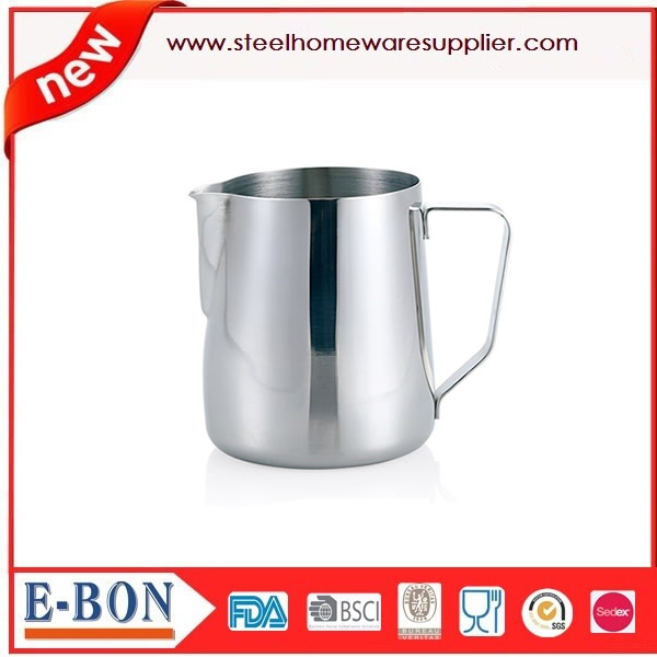 350ML Stainless Steel Coffee Frothing Jug Milk Cup