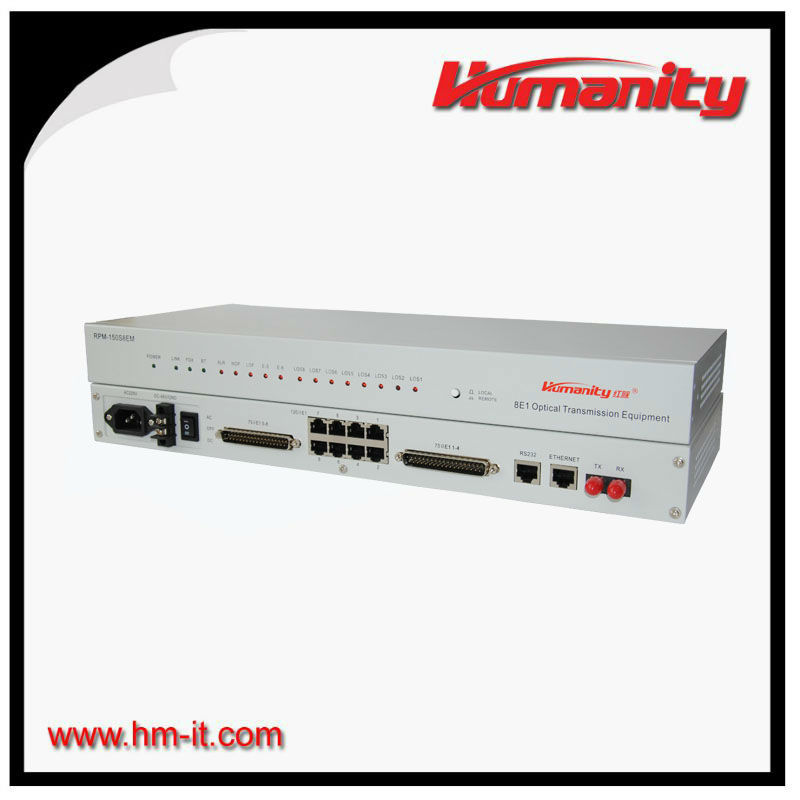 Humanity PDH E1 and Ethernet multiplexers Pdh Mux single fiber e1 modem
