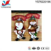 2017 promotion door and wall christmas hanging decoration for holy vacation