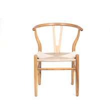TR-269 Rattan bamboo wooden dining chair with Outdoor Garden leisure chair
